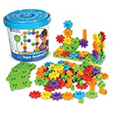 Learning Resources Gears! Gears! Gears! Super Building Toy Set, Puzzle, 150 Pieces, Ages 4+