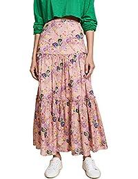 Women's Havana Ruffle Maxi Skirt