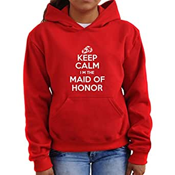Keep calm I'm the maid of honor Women Hoodie