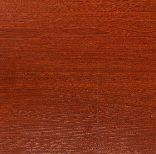 21.3SF AMERIQUE 8.3mm Laminate Click Santos Mahogany Flooring AC3 Rate, 21.3sf/ctn (One (Brazilian Cherry Laminate)