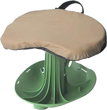 Vertex Garden Rocker Rolling Seat Yard Cart Gardening Portable Tools Outdoor NEW