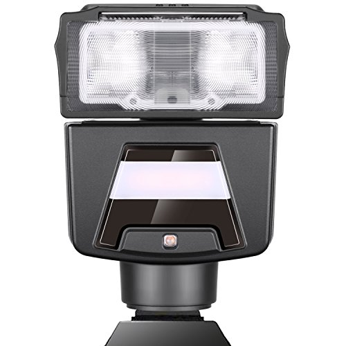 Neewer GN40 TTL Flash for Sony HSS 1/8000s Speedlite LED Video Light for A7 A7R A6000 A6500 and Other Sony Mirrorless Camera (N40S), Ultra Light Weight (7 Ounces), up to 1700 Flashes (Best Mirrorless Camera Comparison)