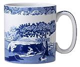 Spode Blue Italian Mug Set of 4 Jumbo Mug 16 Oz