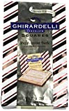 Ghirardelli Peppermint Bark Squares with Dark Chocolate, 9.32 oz Bag