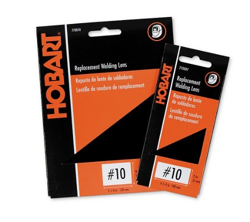 Hobart 770009 No.9 Weld-It Shaded Lens, 4-1/2-Inch by 5-1/4-.
