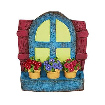 Miniature Fairy Garden Gypsy Hanging Glow Window