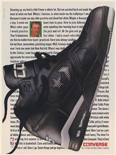 1c0993109228b5 ... Galleon - 1991 Larry Bird Converse Cons Star Conquest Basketball Shoe  Photo Print Ad (Memorabilia ...