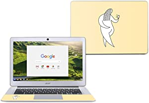 """MightySkins Skin Compatible with Acer Chromebook 14"""" CB3-431 - Chubby Selfie 