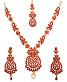 Touchstone Indian Bollywood Floral Inspired Red Rh