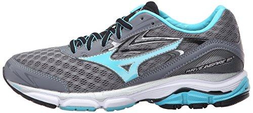 Mizuno Women's Wave Inspire 12-w Running Shoe, Quiet Shade-Capri, 7 B US by Mizuno (Image #5)