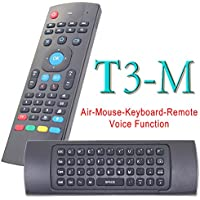 LeSunDa T3-M Fly Air Mouse 2.4GHz & Wireless Mini Keyboard with Microphone Remote Control for Android TV Box Media Player Computer Mobilephone