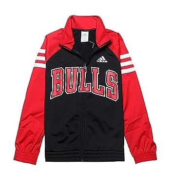 Adidas Chaqueta de chándal para niño, color negro, talla: 11 a 12 ...