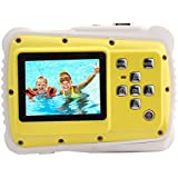 Kids Digital Camera,Underwater Action Camera Waterproof Dust Proof with 2-Inch LCD 12MP HD Video Camcorder for Children Boys Girls Gift Toys