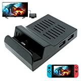 FastSnail Portable Dock for Nintendo Switch, Replacement Dock With Electronic Chip for Nintendo Switch