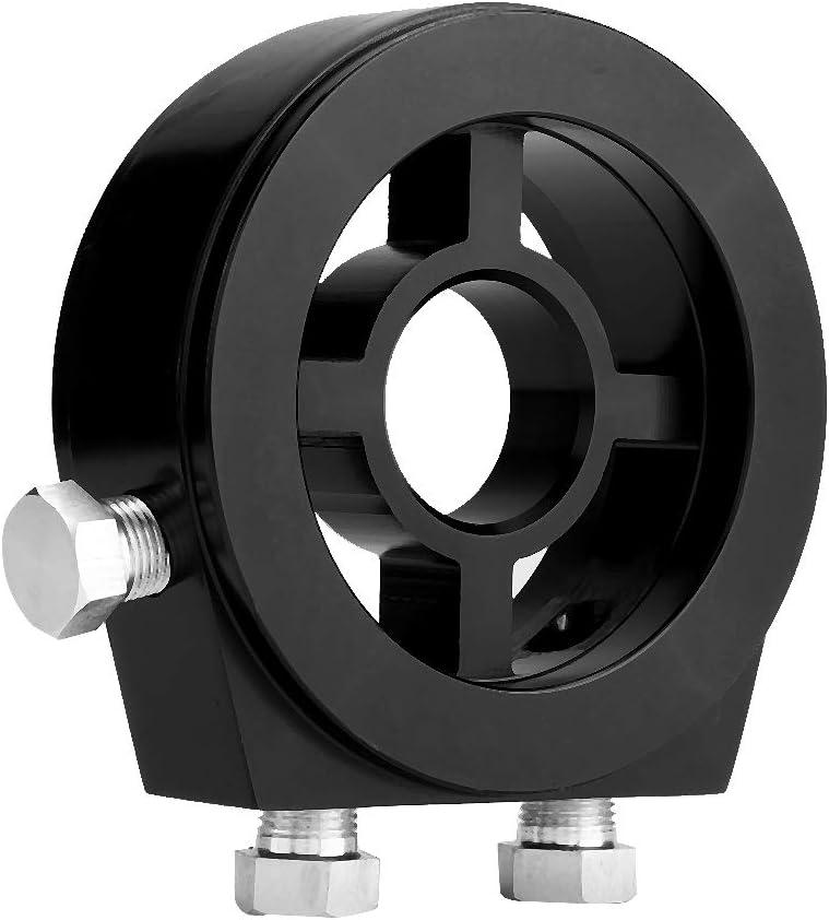 Auto Aluminium /Ölfilter Adapter Sandwich K/ühlerplatte /Ölfilter Adapter /Ölfilter Adapter