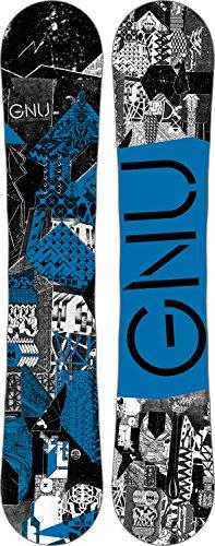 GNU 2017 Carbon Credit BTX (Blue) Snowboard-162