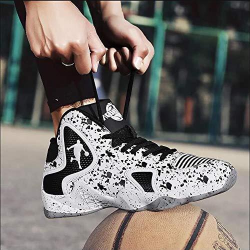 Uomini Primavera Fhtd Nuovi Da Black All'usura High Scarpe Autunno Sneakers top Antiscivolo Resistente Basket 2019 qIYYxr5wE