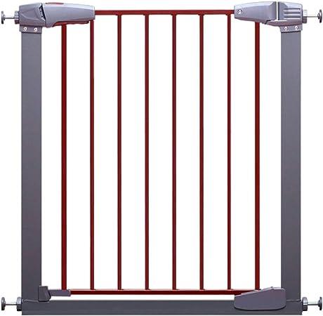 WHAIYAO Bebé Puerta De La Escalera Barrera Valla Escalera Perro Configurable Aislamiento Valla Niño Barandilla Panel Bloqueo De Seguridad, con Kit De Extensión (Color : Gray, Size : 168-172cm Wide): Amazon.es: Hogar