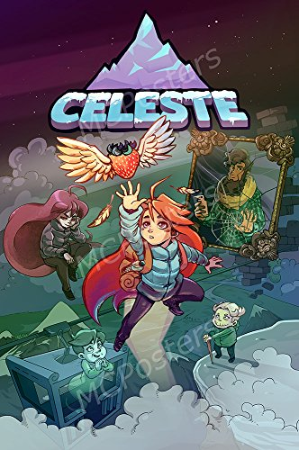 PremiumPrintsG - Celeste PS4 Xbox ONE Switch PC - XNVG002 Premium Canvas 11