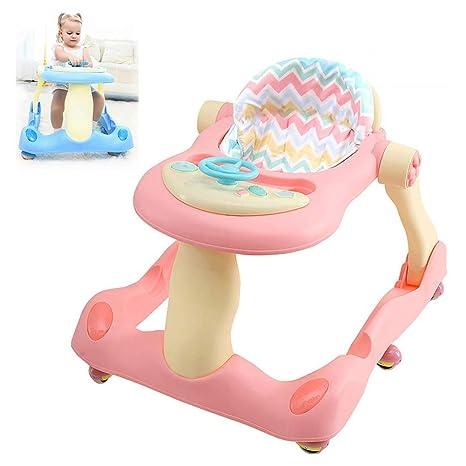 WMYJXD Andador para Bebé, 2 En 1 Multifunción Masculino Bebé Niña ...