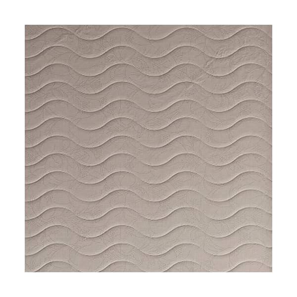 Baldiflex Easy Materasso, in Memory Water Foam, Cotone Ortopedico, Poliuretano, Bianco, 140 x 190 x 18 cm 6 spesavip