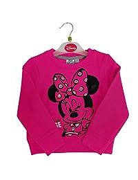 Official Licensed Disney Baby Minnie Mouse Kid's Girl's Full Sleeves Sweatshirt