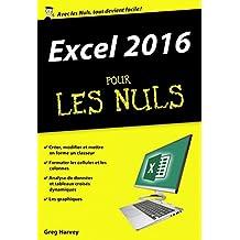Excel 2016 pour les Nuls poche (French Edition)