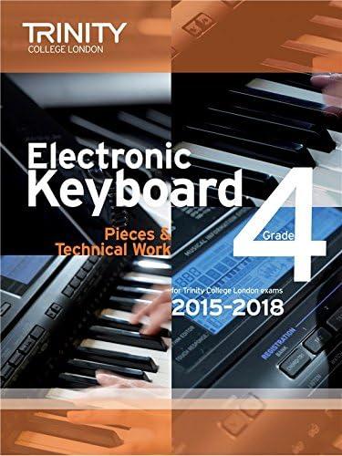 Trinity College London: Exam Pieces From 2015 - Electronic Keyboard: Grade 4. Partituras para Teclado