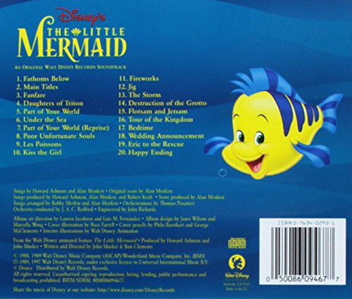 The Little Mermaid: Original Motion Picture Soundtrack by LITTLE (Image #1)