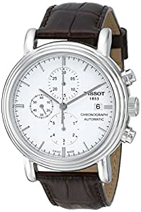 Tissot Men's T068.427.16.011.00 White Dial Carson Watch