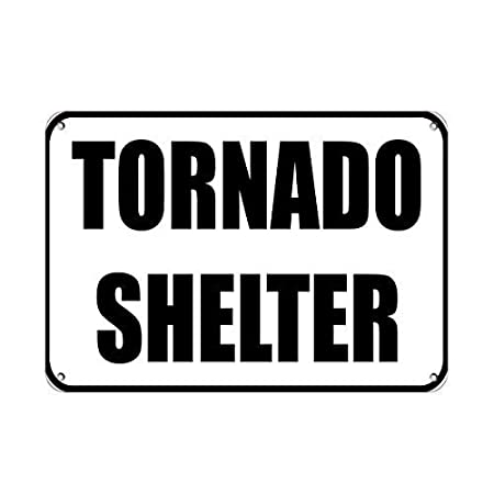 Taco Thursday Tornado Shelter Hazard Sign Emergency Pintura ...
