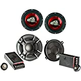 Polk Audio 5.25 2 Way + Boss 6.5 inch 3-Way Car Audio Speakers