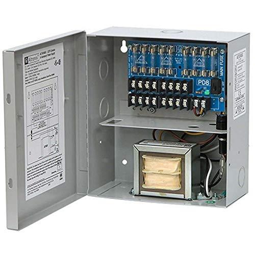 ALTRONIX CCTV Power Supply 8 Fused Outputs 24/28VAC 3.5A 115VAC BC100 Enclosure (ALTV248UL)