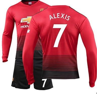 half off 4aac4 b0a82 LISIMKE Men's Manchester United Soccer Jerseys #7 Alexis ...