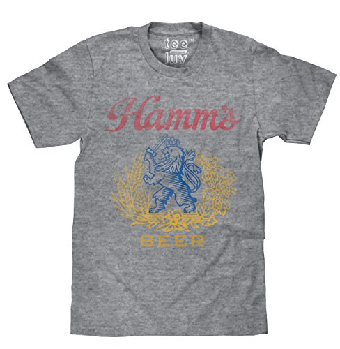Hamm's Beer Lion Crest | Soft Touch Tee-xx-large