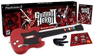 Guitar Hero II: Conjunto de controle de jogo e guitarra
