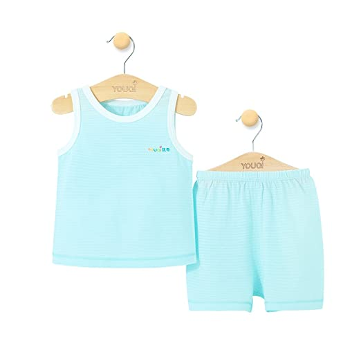 23f6931888a8 Ultra Thin Baby Summer Clothes Girl Baby Boy Clothing Sets Sleeveless Vest  Pajamas Suit (3