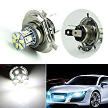 NNDA CO New Pure white H4 5630 12-LED SMD Car Fog Tail Driving Head Light Lamp Bulb