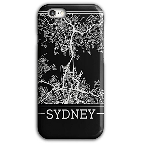 Australia Sydney Map Big City iPhone 6 Plus / 6S Plus Case | Wellcoda - Australia Modern Costume