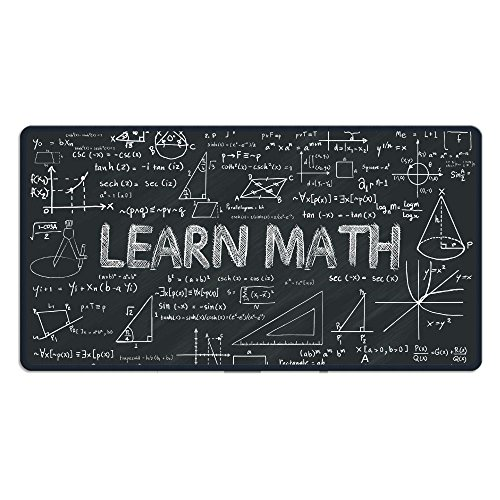 Pads Learn (PHKLTY Mousepads For Laptops Learn Math With Elements Gaming Mouse Pad)