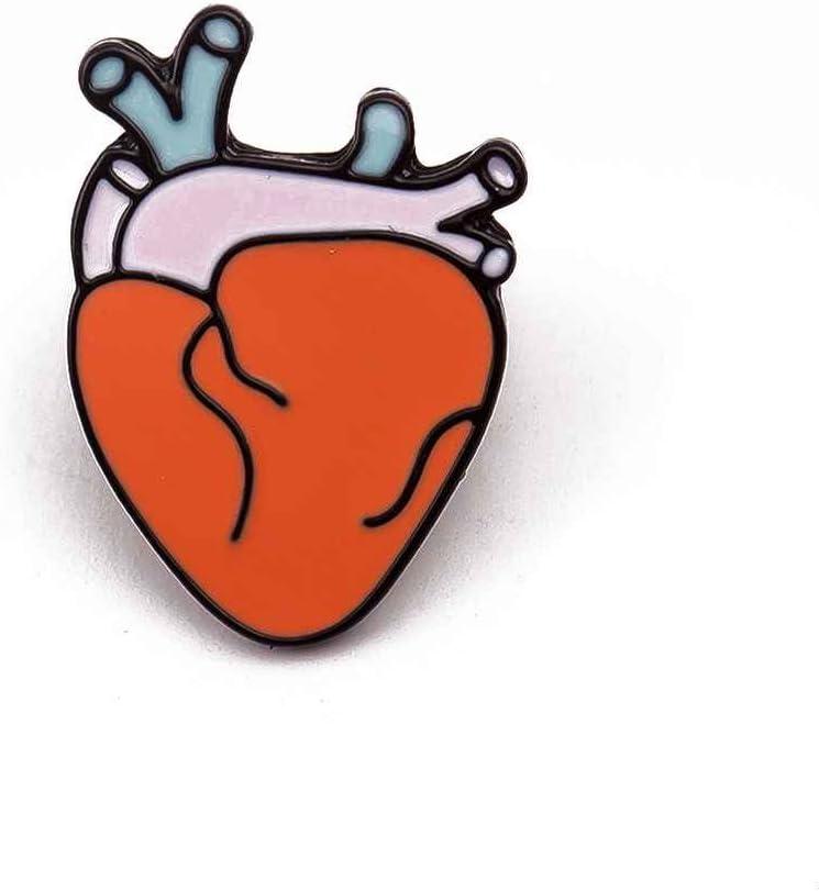 Uzinb 1x Creative Cadeaux Organes Humains Broche Corsage Cerveau Yeux Dents Coeur Pins Broche