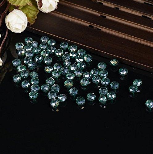 Gperw Buon regalo per ragazze Perline fatte a mano perline di cristallo