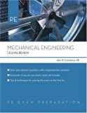 Mechanical Engineering : License Review, Constance, John Dennis and Newnan, Donald G., 1419501348