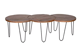 en métal de AramisStructure en 3 Set Tables Salon de thrdBQCosx