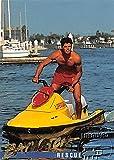 David Charvet trading card Baywatch 1995 #43 Matt Brody waverunner rescue