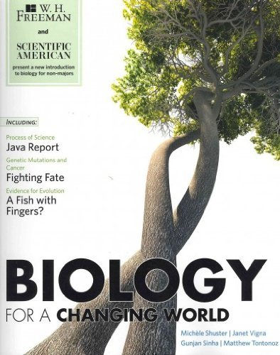 Scientific American Biology for a Changing World & Portal Access Card (1 Use) (High School)