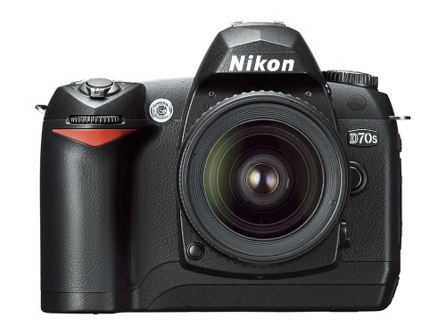 - Nikon D70S 6.1MP Digital SLR Camera Kit with 18-70mm Nikkor Lens