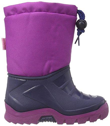 Prinzessin Lillifee 120120 Mädchen Warm gefütterte Schneestiefel Violett (Pflaume)