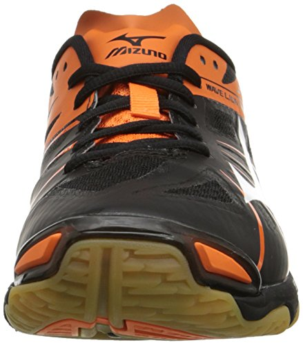 Mizuno Women's Wave Lightning Z WOMS BK-OR Volleyball Shoe