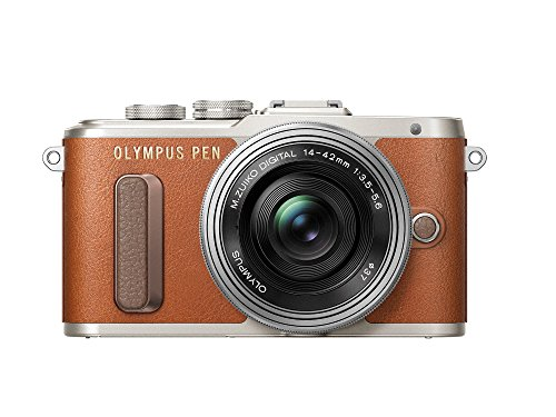 Olympus PEN E-PL8 14-42mm EZ (Kit) Brown
